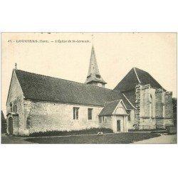 carte postale ancienne 27 LOUVIERS. Eglise Saint-Germain