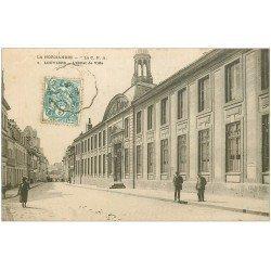 carte postale ancienne 27 LOUVIERS. Hôtel de Ville 1904