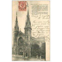 carte postale ancienne 08 CHARLEVILLE. L'Eglise Paroissiale 1904