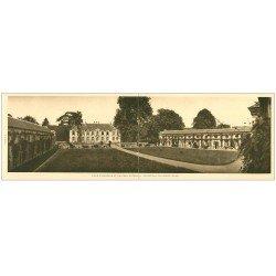 carte postale ancienne 27 MARCILLY-SUR-EURE. Château de Breuil. Carte double panoramique 28 x 9 cm