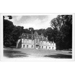 carte postale ancienne 27 MARCILLY-SUR-EURE. Château de Mesagère. Carte Photo émaillographie