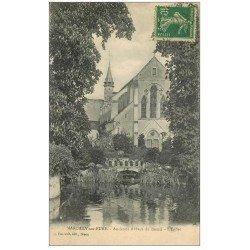 carte postale ancienne 27 MARCILLY-SUR-EURE. Eglise 1922