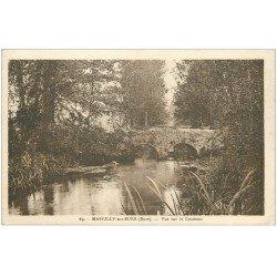 carte postale ancienne 27 MARCILLY-SUR-EURE. Le Couénon 69