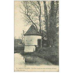 carte postale ancienne 27 MARCILLY-SUR-EURE. Tour fossés Château Brazé