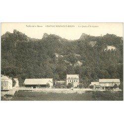 carte postale ancienne 08 CHATEAU-REGNAULT BOGNY. Les 4 Fils Aymon
