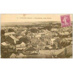 carte postale ancienne 02 BOHAIN. Panorama vers Guise