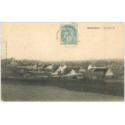 carte postale ancienne 27 NONANCOURT. Vue générale du Village vers 1905