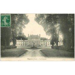 carte postale ancienne 27 NOYER. Le Château 1912