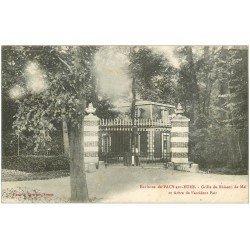 carte postale ancienne 27 PACY-SUR-EURE. Buisson de Mai Arbre de l'accident Fair 1918