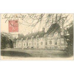 carte postale ancienne 27 PACY-SUR-EURE. Château de Brécourt 1906