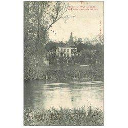 carte postale ancienne 27 PACY-SUR-EURE. Château de Chambines 1910 et l'Eure