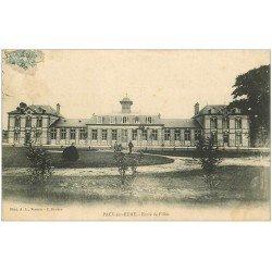 carte postale ancienne 27 PACY-SUR-EURE. Ecole de Filles 1906