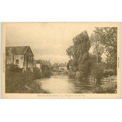 carte postale ancienne 27 PACY-SUR-EURE. Le Pont