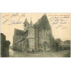 carte postale ancienne 27 PACY-SUR-EURE. L'Eglise 1910