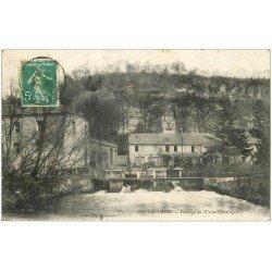 carte postale ancienne 27 PONT-AUDEMER. Le Barrage Usine Electrique