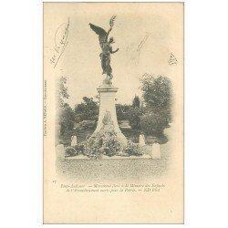 carte postale ancienne 27 PONT-AUDEMER. Monument Enfants Arrondissement Morts pour la Patrie