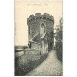 carte postale ancienne 27 PONT-DE-L'ARCHE. La Tour