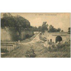 carte postale ancienne 08 GIVET. Fort Charlemont