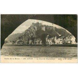carte postale ancienne 08 GIVET. Fort de Charlemont 1927
