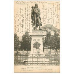 carte postale ancienne 08 GIVET. Méhul Compositeur 1903