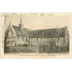 carte postale ancienne 27 SAINTE-SUZANNE. Prieuré Notre-Dame du Désert 1903