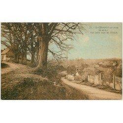 carte postale ancienne 28 SAINT-GERMAIN-SUR-AVRE. Sous les Tilleuls