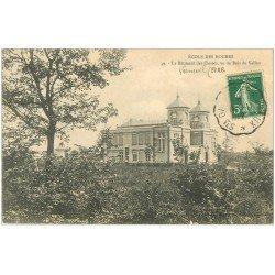 carte postale ancienne 27 VERNEUIL-SUR-AVRE. Ecole des Roches. Bâtiment des Classes 1912