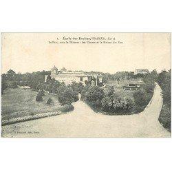 carte postale ancienne 27 VERNEUIL-SUR-AVRE. Ecole des Roches. Maison des Pins