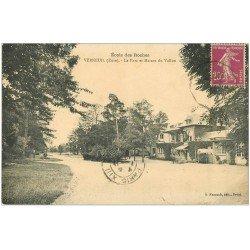 carte postale ancienne 27 VERNEUIL-SUR-AVRE. Ecole des Roches. Maison du Vallon 1935