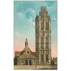 carte postale ancienne 27 VERNEUIL-SUR-AVRE. Eglise de la Madeleine