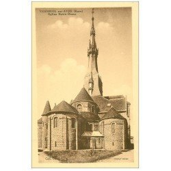 carte postale ancienne 27 VERNEUIL-SUR-AVRE. Eglise Notre-Dame