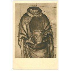 carte postale ancienne 27 VERNEUIL-SUR-AVRE. Eglise Notre-Dame. Saint-Denis en bois
