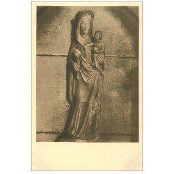 carte postale ancienne 27 VERNEUIL-SUR-AVRE. Eglise Notre-Dame. Vierge et Enfant