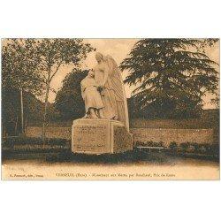 carte postale ancienne 27 VERNEUIL-SUR-AVRE. Monument aux Morts par Bouchard