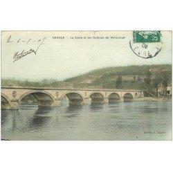 carte postale ancienne 27 VERNON. Colline du Vernonnet 1908