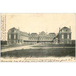 carte postale ancienne 08 LES ALLEUX. Château de Maison Rouge 1908