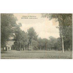carte postale ancienne 41 AUTHON. Château de Blanchamp