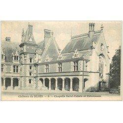 carte postale ancienne 41 BLOIS. Chapelle Saint-Calais