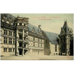 carte postale ancienne 41 BLOIS. Château aile sur Cour 9