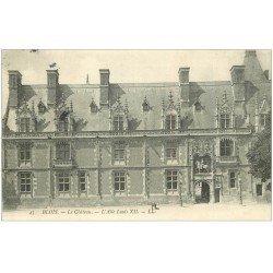 carte postale ancienne 41 BLOIS. Château. Aile Louis XII 1907