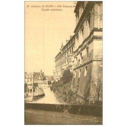 carte postale ancienne 41 BLOIS. Château. Aile n°87