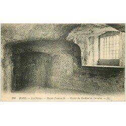 carte postale ancienne 41 BLOIS. Château. Cachot Cardinal de Lorraine