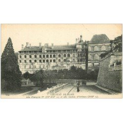 carte postale ancienne 41 BLOIS. Château. Façade 540