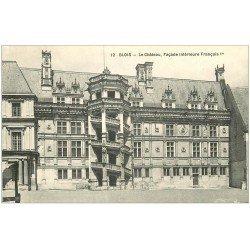 carte postale ancienne 41 BLOIS. Château. Façade n°12