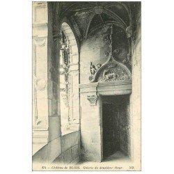 carte postale ancienne 41 BLOIS. Château. Galerie