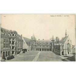 carte postale ancienne 41 BLOIS. Château. La Cour