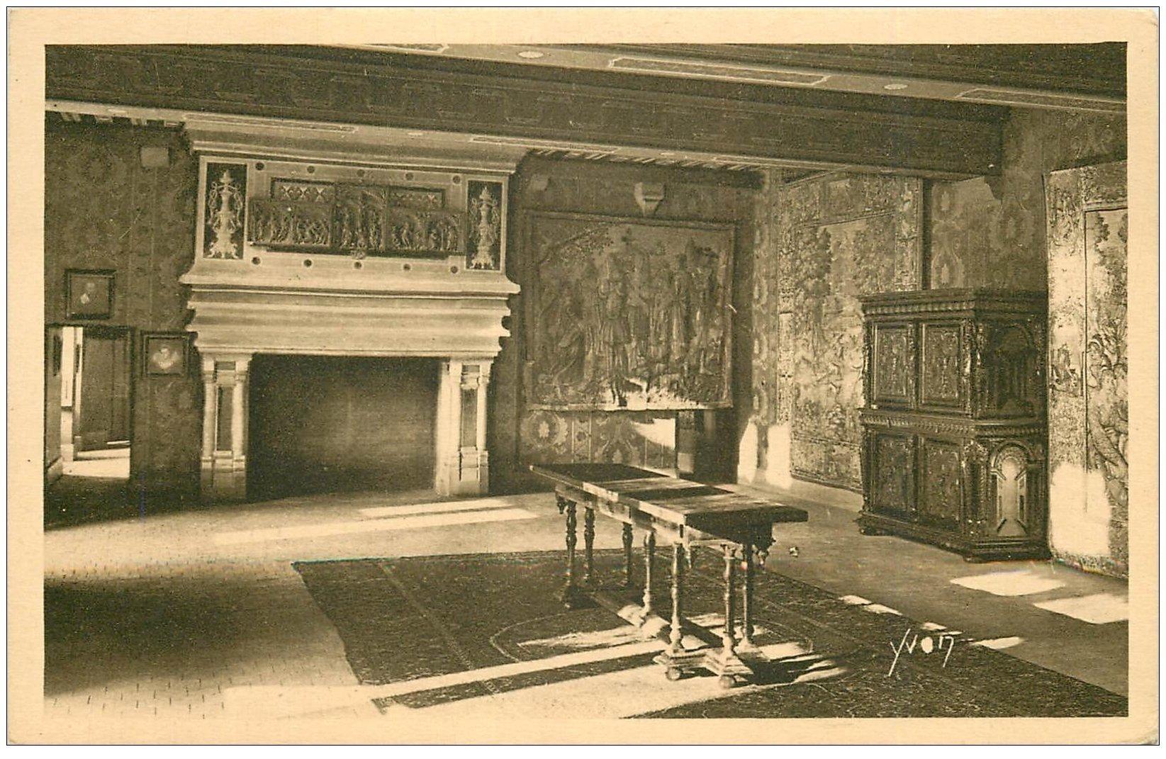 carte postale ancienne 41 BLOIS. Château. Salle des Gardes