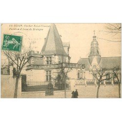 carte postale ancienne 41 BLOIS. Clocher Saint-Vincent Pavillon