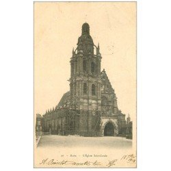carte postale ancienne 41 BLOIS. Eglise Saint-Louis 1903
