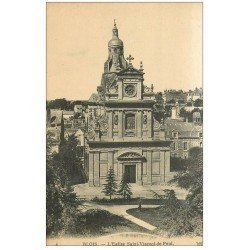 carte postale ancienne 41 BLOIS. Eglise Saint-Vincent-de-Paul n°6